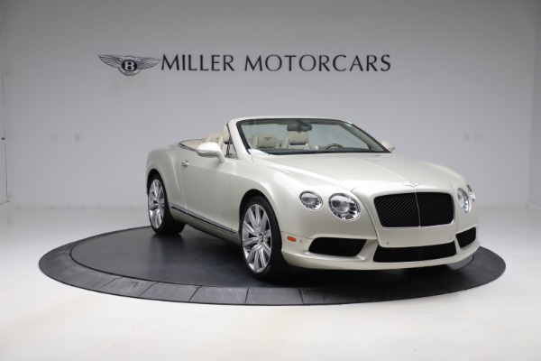 Used 2015 Bentley Continental GTC V8 for sale $109,900 at Bentley Greenwich in Greenwich CT 06830 11