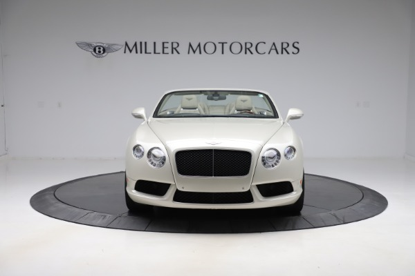 Used 2015 Bentley Continental GTC V8 for sale $109,900 at Bentley Greenwich in Greenwich CT 06830 12