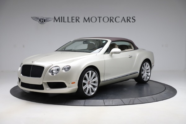 Used 2015 Bentley Continental GTC V8 for sale $109,900 at Bentley Greenwich in Greenwich CT 06830 13