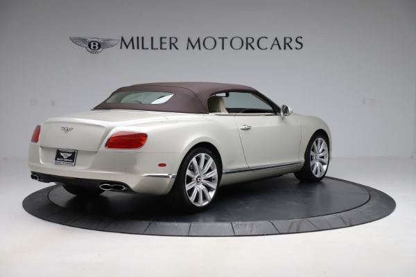 Used 2015 Bentley Continental GTC V8 for sale $109,900 at Bentley Greenwich in Greenwich CT 06830 16