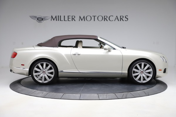 Used 2015 Bentley Continental GTC V8 for sale $109,900 at Bentley Greenwich in Greenwich CT 06830 17