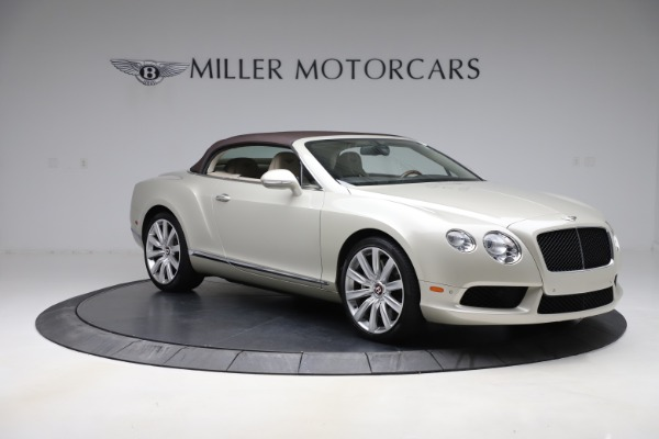 Used 2015 Bentley Continental GTC V8 for sale $109,900 at Bentley Greenwich in Greenwich CT 06830 18