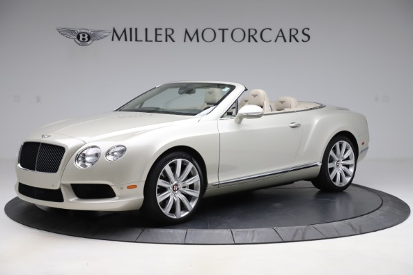 Used 2015 Bentley Continental GTC V8 for sale $109,900 at Bentley Greenwich in Greenwich CT 06830 2