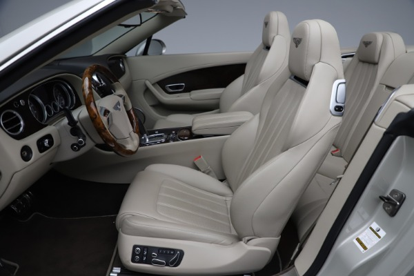 Used 2015 Bentley Continental GTC V8 for sale $109,900 at Bentley Greenwich in Greenwich CT 06830 24