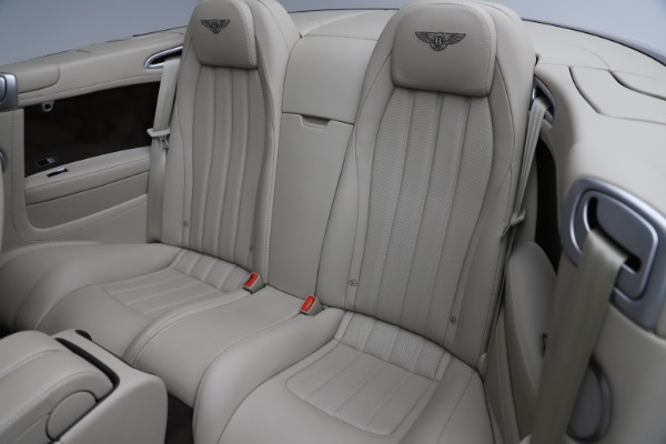 Used 2015 Bentley Continental GTC V8 for sale $109,900 at Bentley Greenwich in Greenwich CT 06830 28