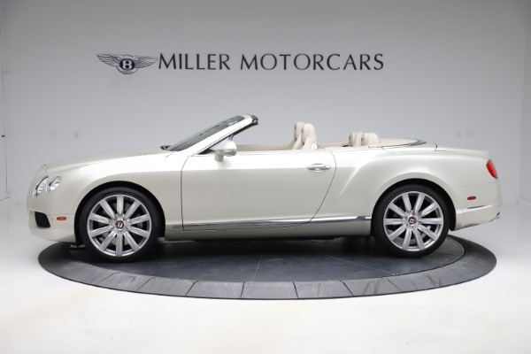 Used 2015 Bentley Continental GTC V8 for sale $109,900 at Bentley Greenwich in Greenwich CT 06830 3