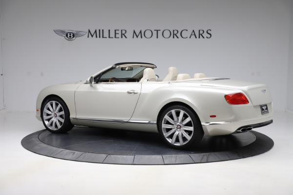 Used 2015 Bentley Continental GTC V8 for sale $109,900 at Bentley Greenwich in Greenwich CT 06830 4