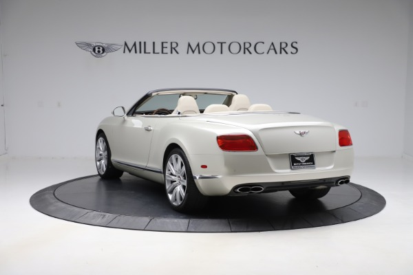 Used 2015 Bentley Continental GTC V8 for sale $109,900 at Bentley Greenwich in Greenwich CT 06830 5