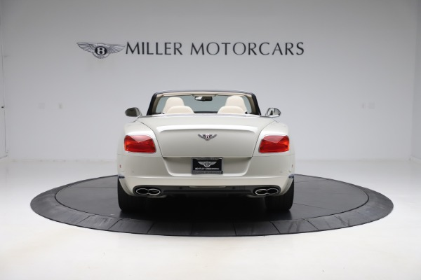 Used 2015 Bentley Continental GTC V8 for sale $109,900 at Bentley Greenwich in Greenwich CT 06830 6