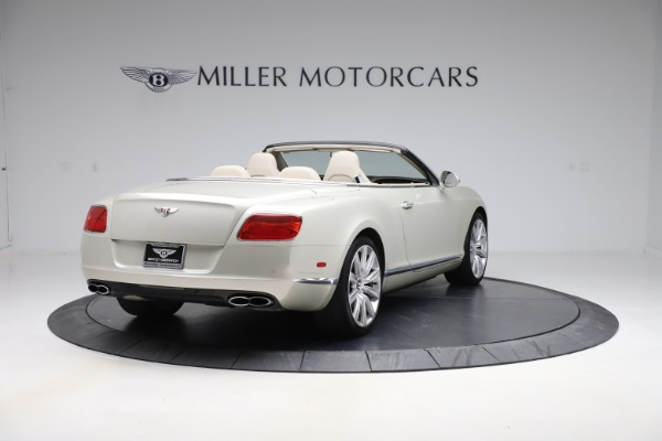 Used 2015 Bentley Continental GTC V8 for sale $109,900 at Bentley Greenwich in Greenwich CT 06830 7
