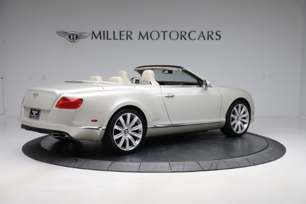 Used 2015 Bentley Continental GTC V8 for sale $109,900 at Bentley Greenwich in Greenwich CT 06830 8