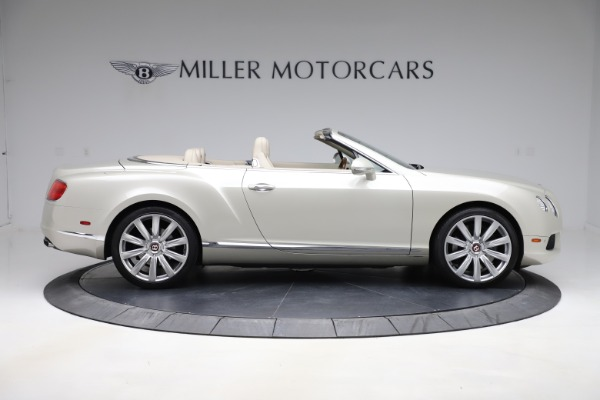 Used 2015 Bentley Continental GTC V8 for sale $109,900 at Bentley Greenwich in Greenwich CT 06830 9