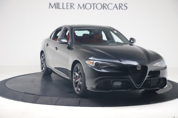 New 2020 Alfa Romeo Giulia Ti Sport Q4 for sale $56,440 at Bentley Greenwich in Greenwich CT 06830 11