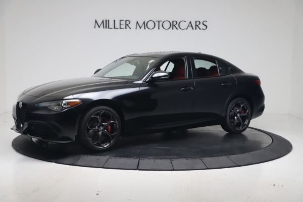 New 2020 Alfa Romeo Giulia Ti Sport Q4 for sale $56,440 at Bentley Greenwich in Greenwich CT 06830 2