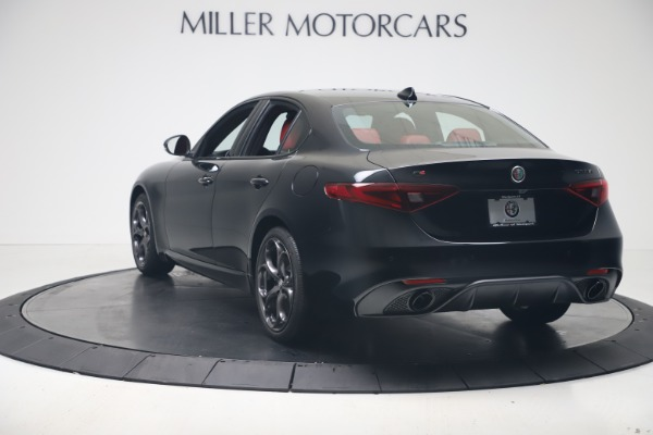 New 2020 Alfa Romeo Giulia Ti Sport Q4 for sale $56,440 at Bentley Greenwich in Greenwich CT 06830 5
