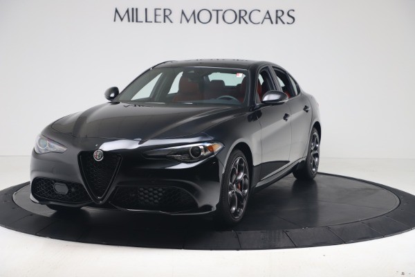 New 2020 Alfa Romeo Giulia Ti Sport Q4 for sale $56,440 at Bentley Greenwich in Greenwich CT 06830 1