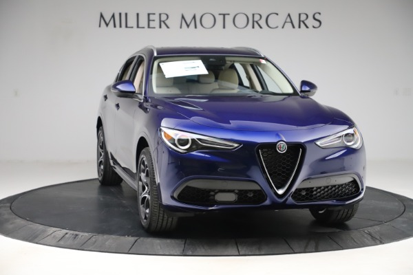 New 2020 Alfa Romeo Stelvio Ti Lusso Q4 for sale $55,790 at Bentley Greenwich in Greenwich CT 06830 11