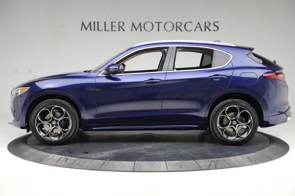 New 2020 Alfa Romeo Stelvio Ti Lusso Q4 for sale $55,790 at Bentley Greenwich in Greenwich CT 06830 3