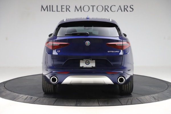New 2020 Alfa Romeo Stelvio Ti Lusso Q4 for sale $55,790 at Bentley Greenwich in Greenwich CT 06830 6