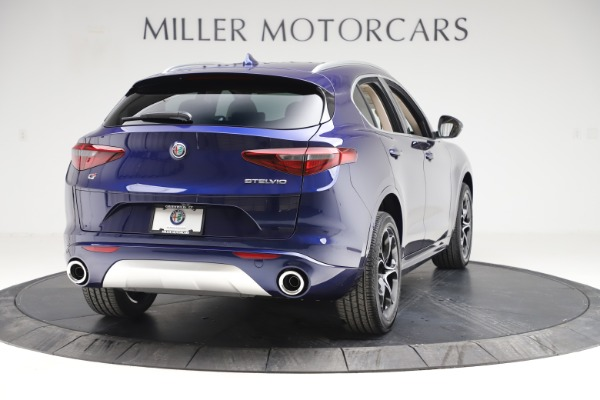New 2020 Alfa Romeo Stelvio Ti Lusso Q4 for sale $55,790 at Bentley Greenwich in Greenwich CT 06830 7