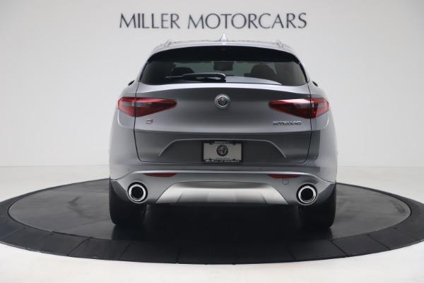 New 2020 Alfa Romeo Stelvio Ti Lusso Q4 for sale $55,790 at Bentley Greenwich in Greenwich CT 06830 6