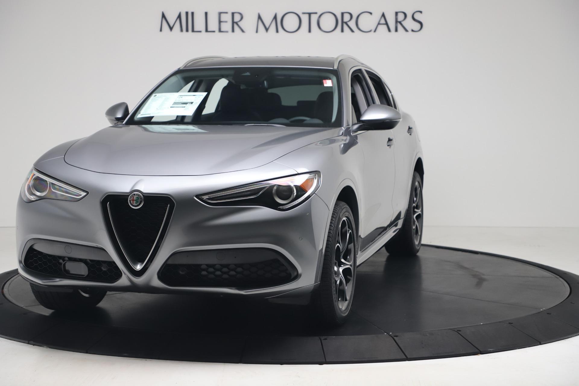 New 2020 Alfa Romeo Stelvio Ti Lusso Q4 for sale $55,790 at Bentley Greenwich in Greenwich CT 06830 1