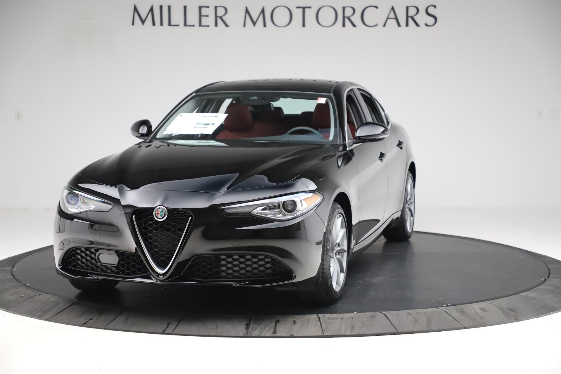 New 2020 Alfa Romeo Giulia Q4 for sale $45,740 at Bentley Greenwich in Greenwich CT 06830 1