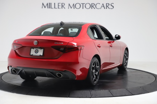 New 2020 Alfa Romeo Giulia Sport Q4 for sale $42,790 at Bentley Greenwich in Greenwich CT 06830 7