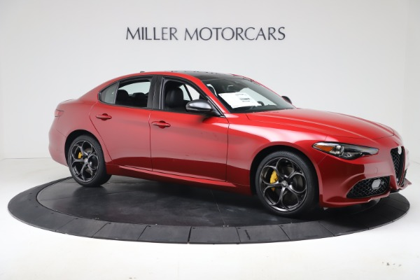 New 2020 Alfa Romeo Giulia Ti Sport Q4 for sale $56,690 at Bentley Greenwich in Greenwich CT 06830 10