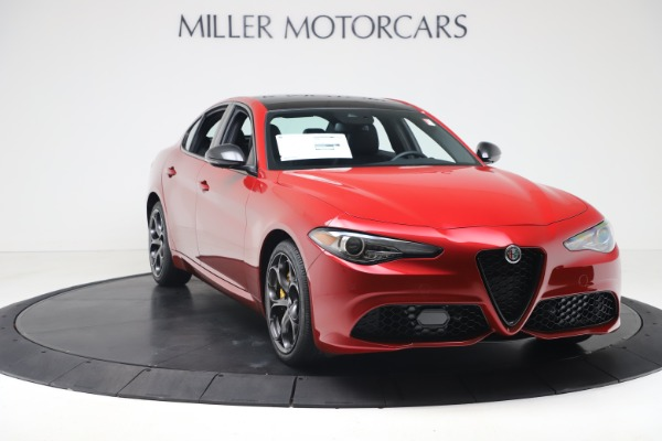 New 2020 Alfa Romeo Giulia Ti Sport Q4 for sale $56,690 at Bentley Greenwich in Greenwich CT 06830 11