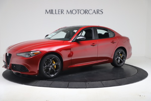 New 2020 Alfa Romeo Giulia Ti Sport Q4 for sale $56,690 at Bentley Greenwich in Greenwich CT 06830 2
