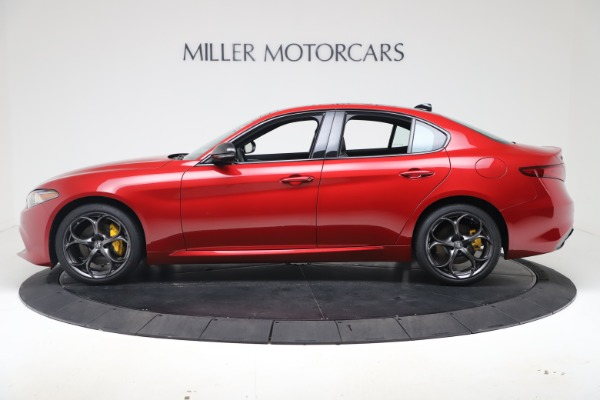 New 2020 Alfa Romeo Giulia Ti Sport Q4 for sale $56,690 at Bentley Greenwich in Greenwich CT 06830 3