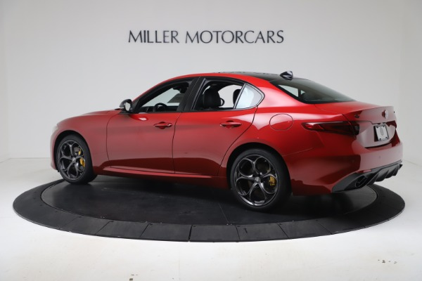 New 2020 Alfa Romeo Giulia Ti Sport Q4 for sale $56,690 at Bentley Greenwich in Greenwich CT 06830 4