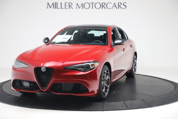 New 2020 Alfa Romeo Giulia Ti Sport Q4 for sale $56,690 at Bentley Greenwich in Greenwich CT 06830 1