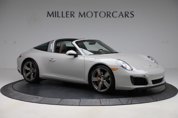 Used 2018 Porsche 911 Targa 4S for sale $134,900 at Bentley Greenwich in Greenwich CT 06830 10