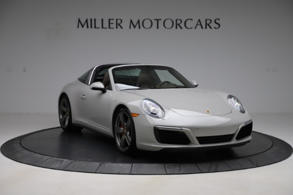 Used 2018 Porsche 911 Targa 4S for sale $134,900 at Bentley Greenwich in Greenwich CT 06830 11
