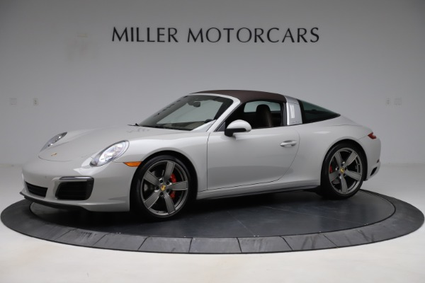 Used 2018 Porsche 911 Targa 4S for sale $134,900 at Bentley Greenwich in Greenwich CT 06830 12