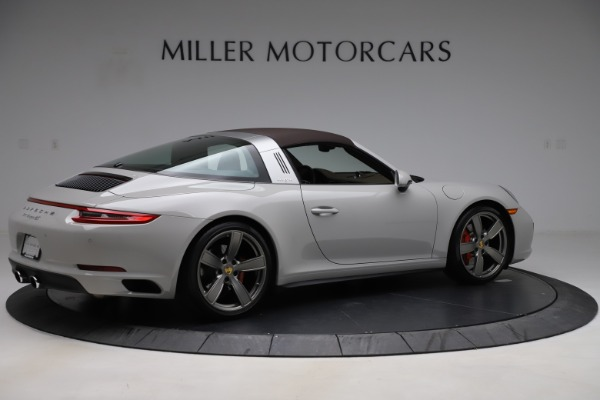 Used 2018 Porsche 911 Targa 4S for sale $134,900 at Bentley Greenwich in Greenwich CT 06830 14