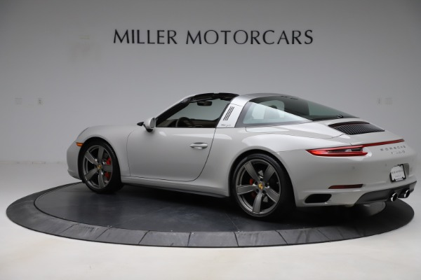 Used 2018 Porsche 911 Targa 4S for sale $134,900 at Bentley Greenwich in Greenwich CT 06830 4