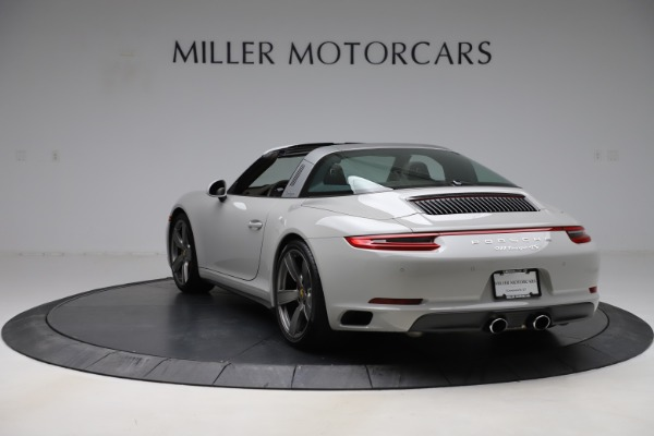 Used 2018 Porsche 911 Targa 4S for sale $134,900 at Bentley Greenwich in Greenwich CT 06830 5