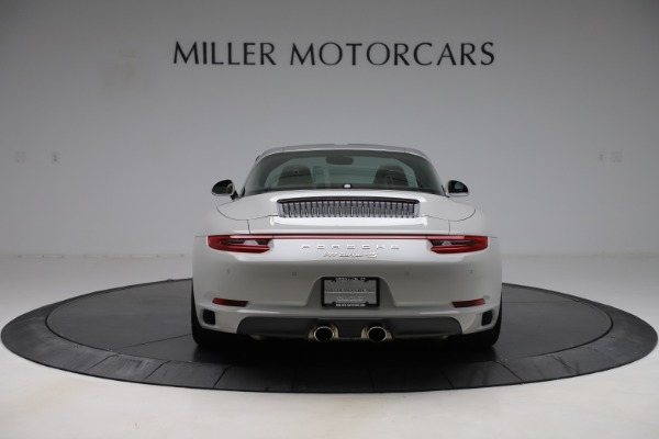 Used 2018 Porsche 911 Targa 4S for sale $134,900 at Bentley Greenwich in Greenwich CT 06830 6