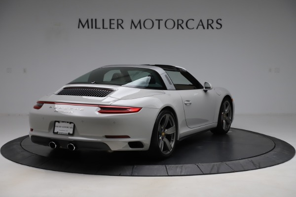 Used 2018 Porsche 911 Targa 4S for sale $134,900 at Bentley Greenwich in Greenwich CT 06830 7