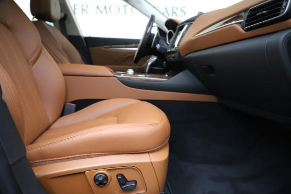 New 2020 Maserati Levante S Q4 GranLusso for sale $94,985 at Bentley Greenwich in Greenwich CT 06830 23