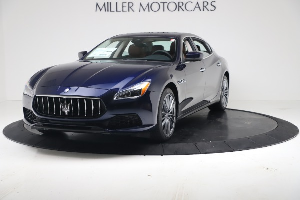 New 2020 Maserati Quattroporte S Q4 GranLusso for sale $122,185 at Bentley Greenwich in Greenwich CT 06830 1