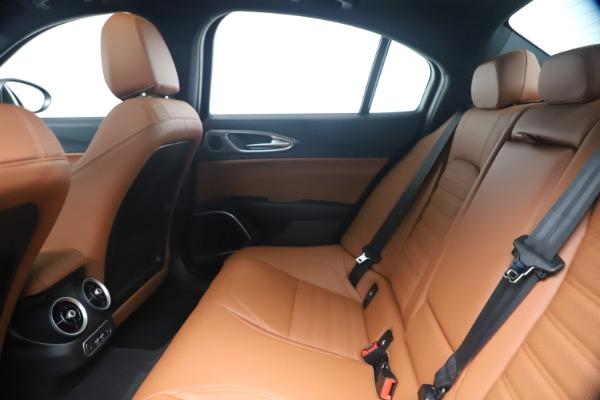 New 2020 Alfa Romeo Giulia Ti Sport Q4 for sale $52,840 at Bentley Greenwich in Greenwich CT 06830 19