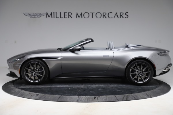 New 2020 Aston Martin DB11 Volante Convertible for sale $271,161 at Bentley Greenwich in Greenwich CT 06830 4