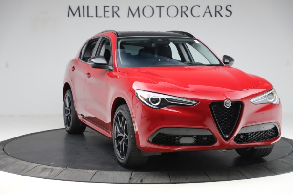 New 2020 Alfa Romeo Stelvio Sport Q4 for sale $50,190 at Bentley Greenwich in Greenwich CT 06830 11