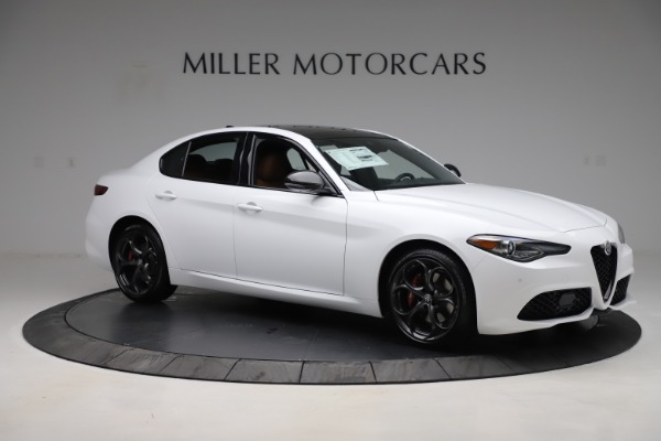 New 2020 Alfa Romeo Giulia Ti Sport Q4 for sale $53,190 at Bentley Greenwich in Greenwich CT 06830 10