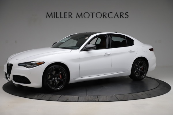 New 2020 Alfa Romeo Giulia Ti Sport Q4 for sale $53,190 at Bentley Greenwich in Greenwich CT 06830 2