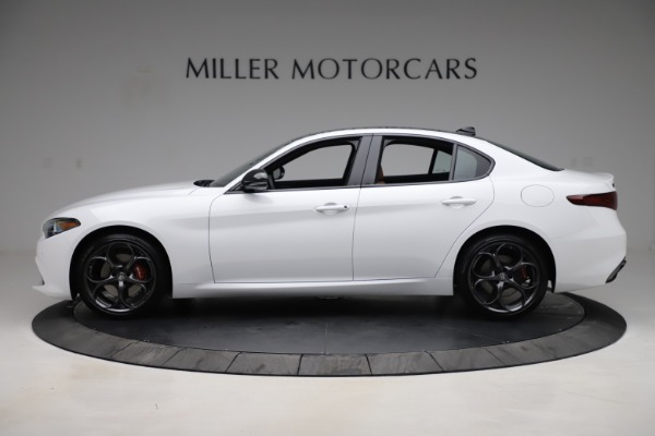 New 2020 Alfa Romeo Giulia Ti Sport Q4 for sale $53,190 at Bentley Greenwich in Greenwich CT 06830 3